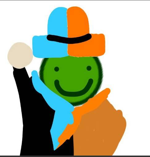 Rysunek Avatara zrobiony przez KotBartek