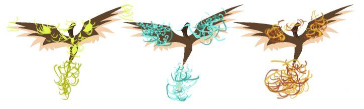 Ptaki 3 żywiołów