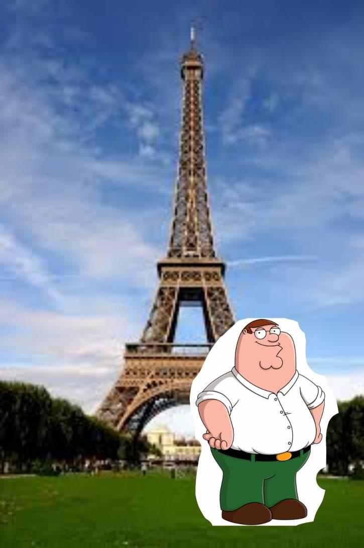 Jestem w Paryżu