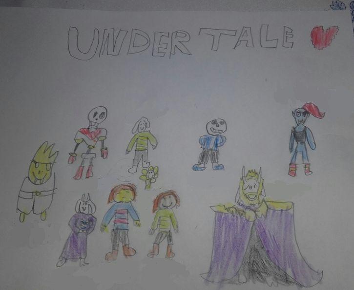 Mój rysunek z UT