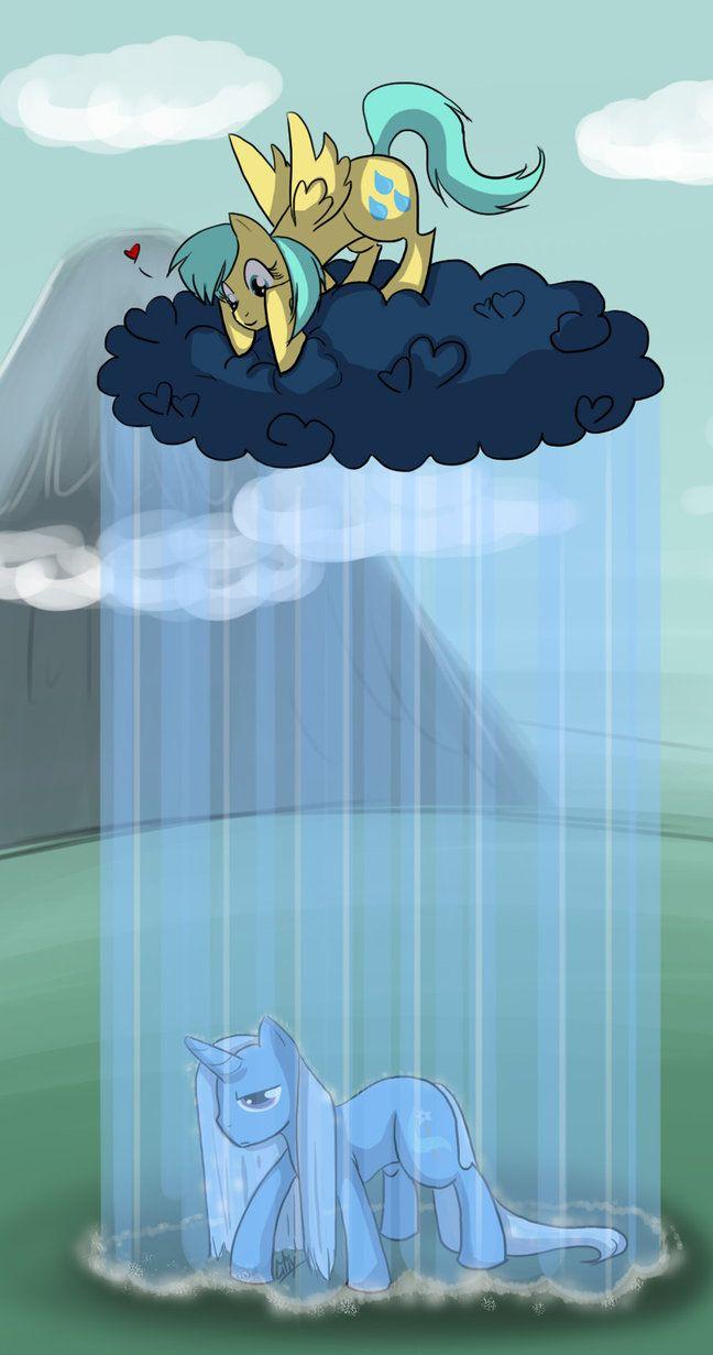 Raindrops zmacza Trixie