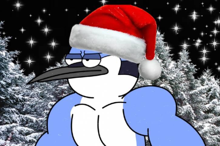 """Awek na święta Mordecai """"Regular Show"""""""