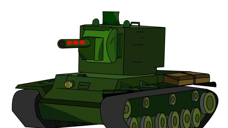 KV-2 made in CCCP
