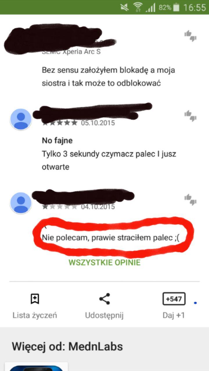 Google i palce