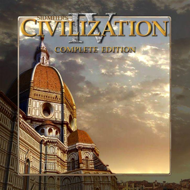 Sid Meier's Civilization 4 complete