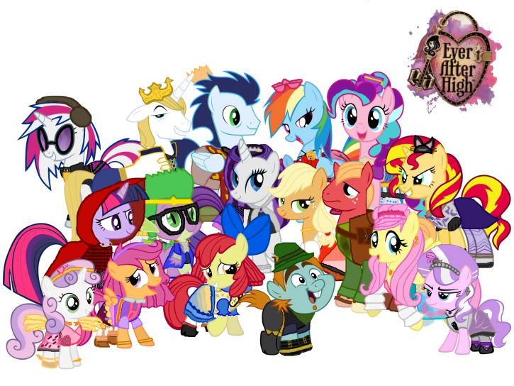 My little pony czy Ever After High