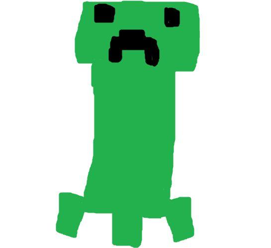 Creeper z mc