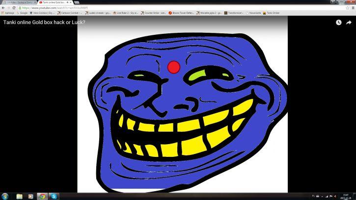 Trollface Hindu Wersja