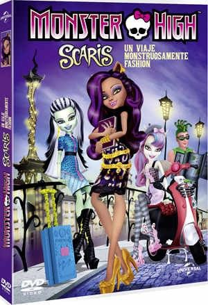 MonsterHigh Scaris