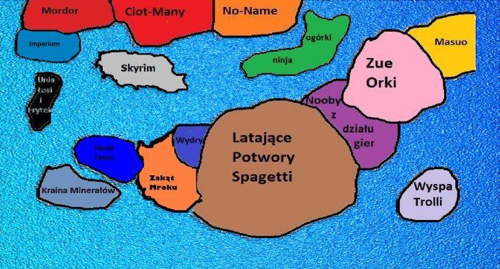 Mapa do grupy