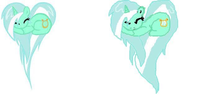 Lyra heart pony