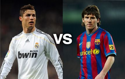 Ronaldo vs Messi - Kto lepszy ?