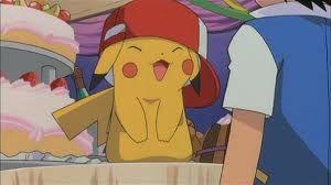 pikachu w czapce asha