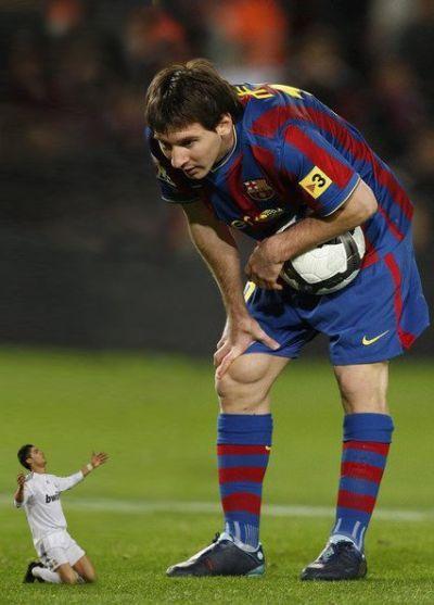 Wielkość Messiego i Ronaldo