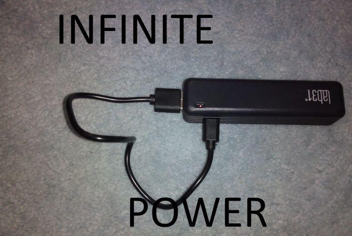 Nieskończona energia