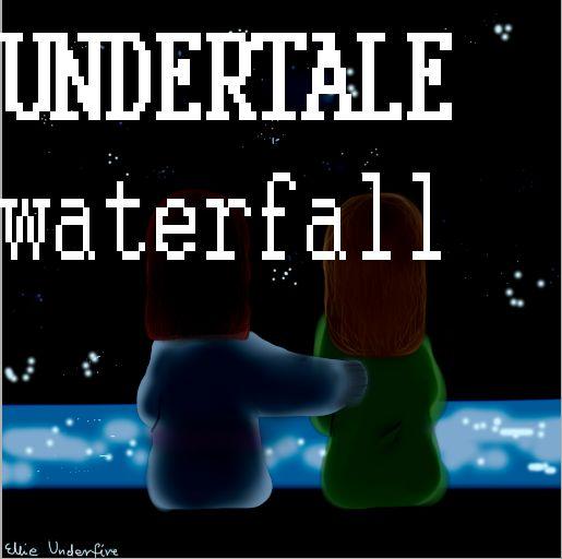UNDERTALE waterfall