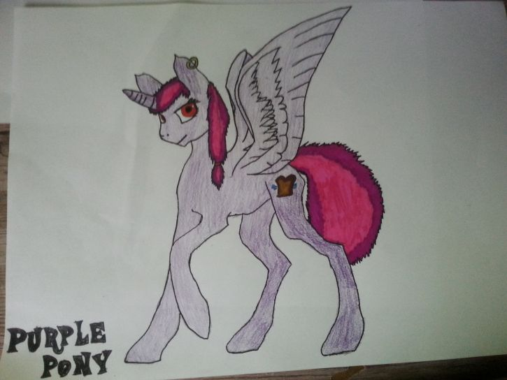 Purple Pony (Dla PurpleGirl)
