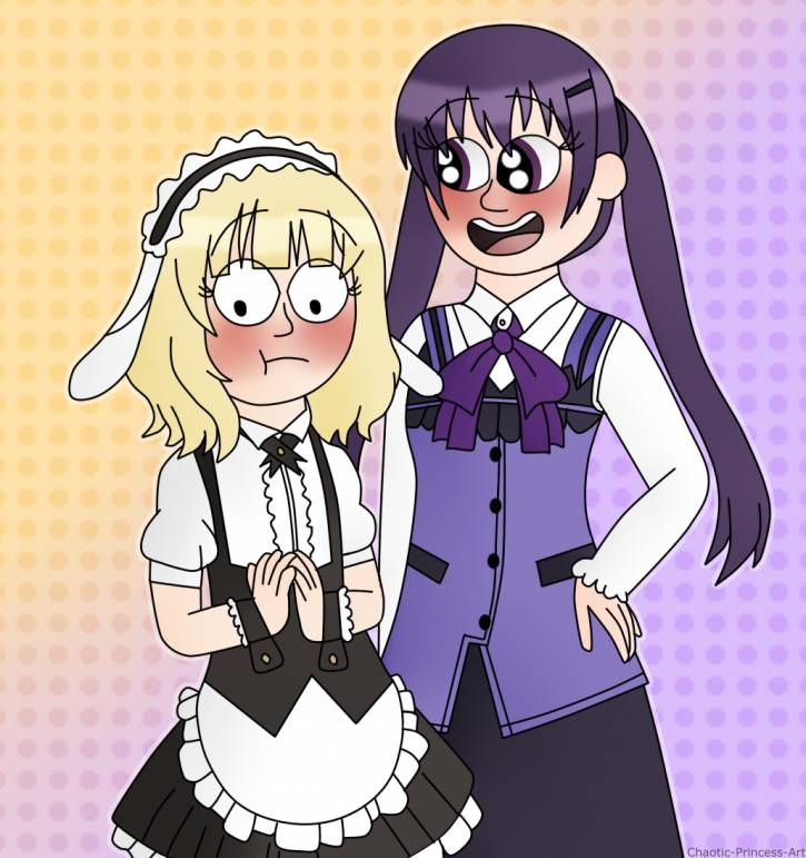 Dwie urocze lesbijki