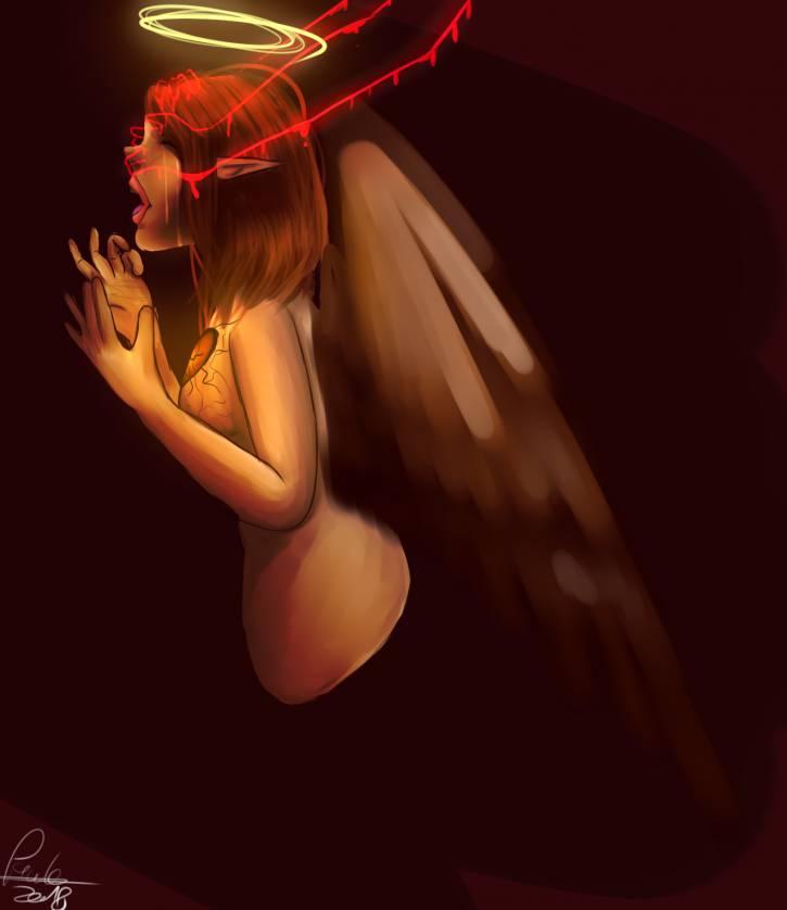 Oslepiony aniol