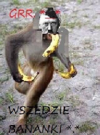 Adolf & banany *-*
