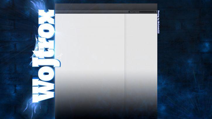 Strona Youtube dla kanału Wojtrox