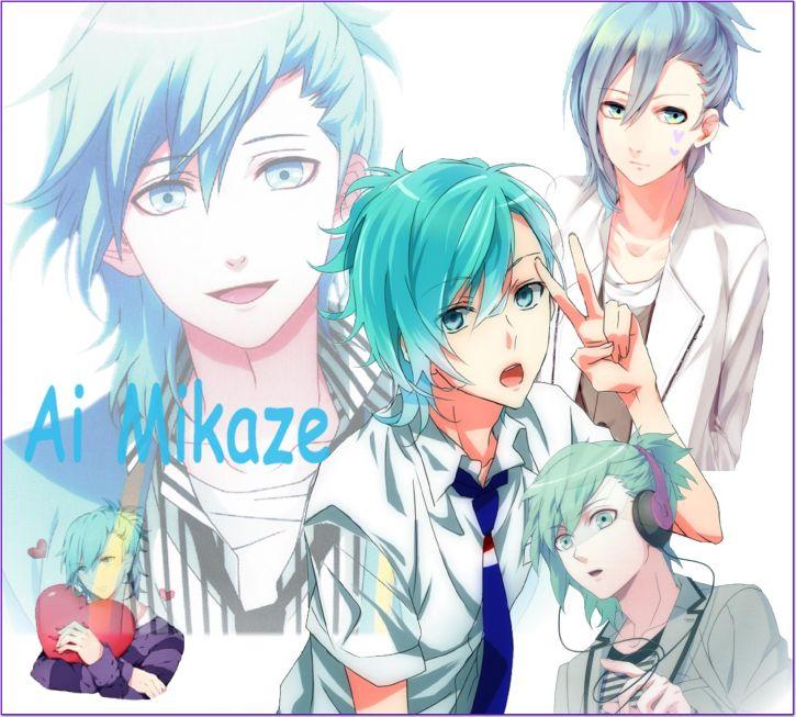 Mój kolaż -Ai Mikaze