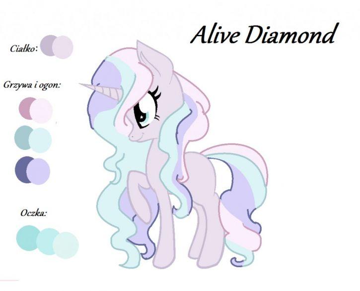 Moja OC Alive Diamond