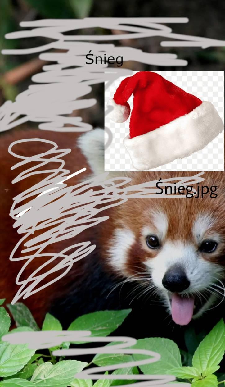 Mój świonteczny avatar