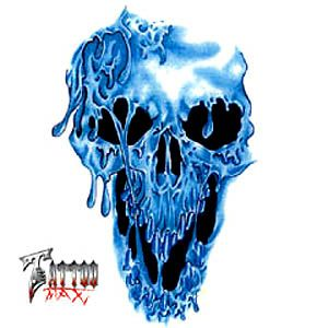 niebieska śmierć