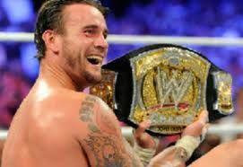 C.M. Punk - New WWE Champion