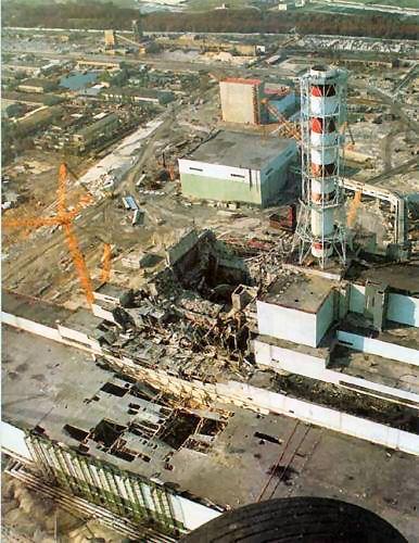 elektrownia w Chernobylu