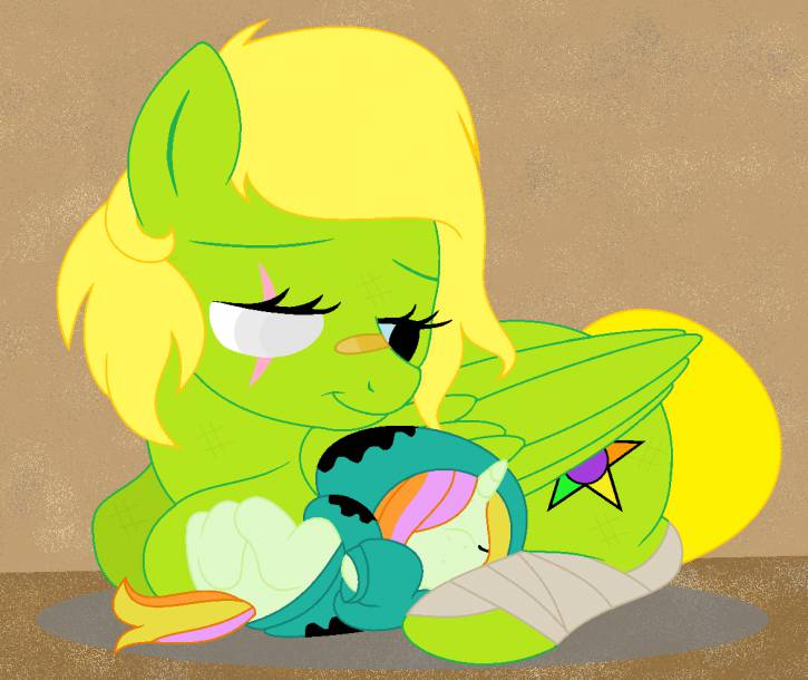 """She's so sweet at sleeping..."" (My history)"