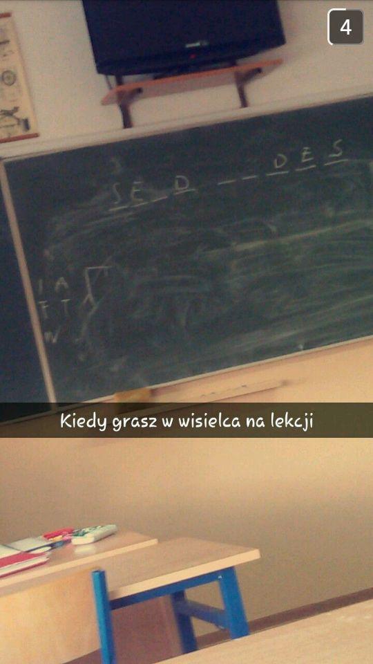Takie mam śmieszki w klasie