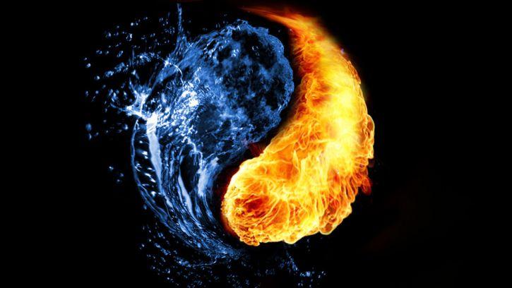 miłość-ogień i woda