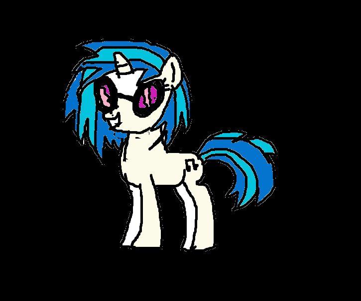 DJ pony 3