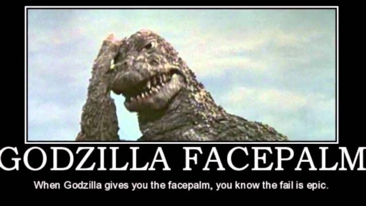 Gdy Godzilla patrzy do internetu...