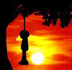 Ja tylko paczę na zachód słońca...