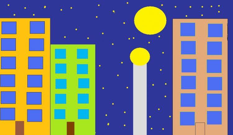 Miasto w nocy
