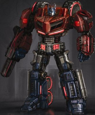 Optimus Prime z transformers wfc