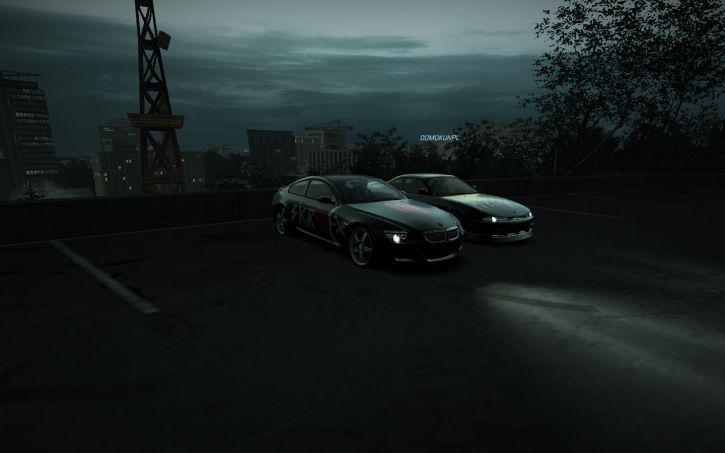 Takie tam na parkingu :D