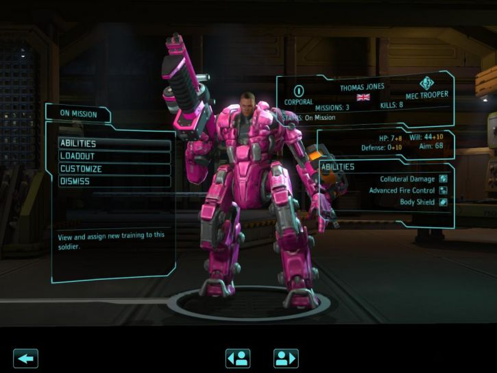 Rózowy Cyberżołnierz :3