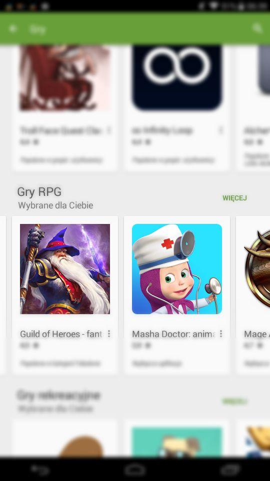 Tak zwane gry RPG