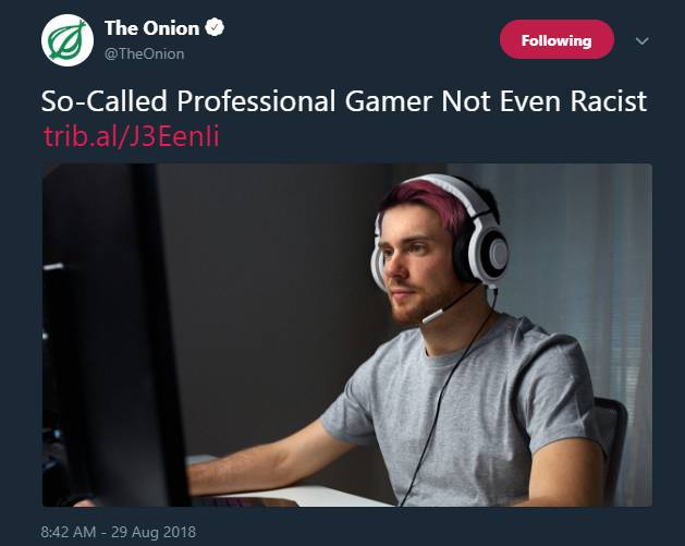 fake gamer smh my head