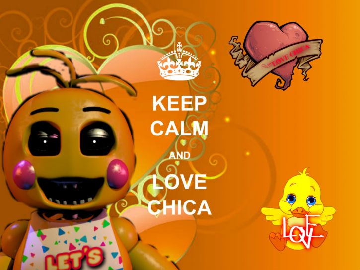 Ceep calm  and love Chica