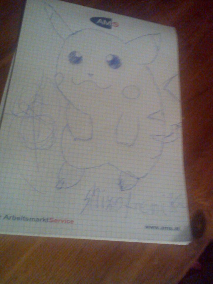 Pikachu by shizofrenik