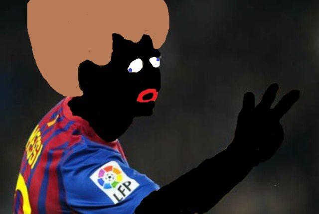 Messi Murzynem