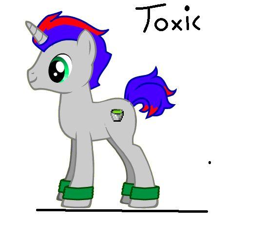 Mój OC Toxic ;x