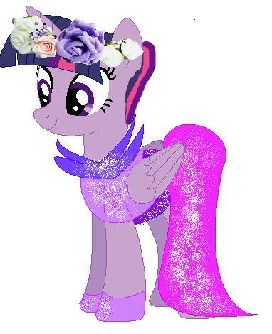 Sukienka dla Twighliht Sparkle