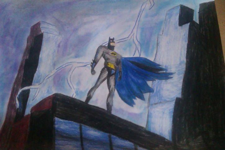 Mój Batman ;-;