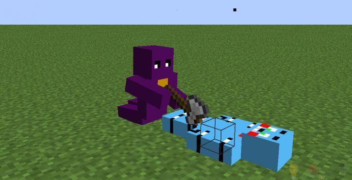 Toy bonnie umarł przez purple guy